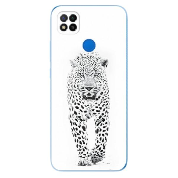 Odolné silikonové pouzdro iSaprio - White Jaguar - Xiaomi Redmi 9C
