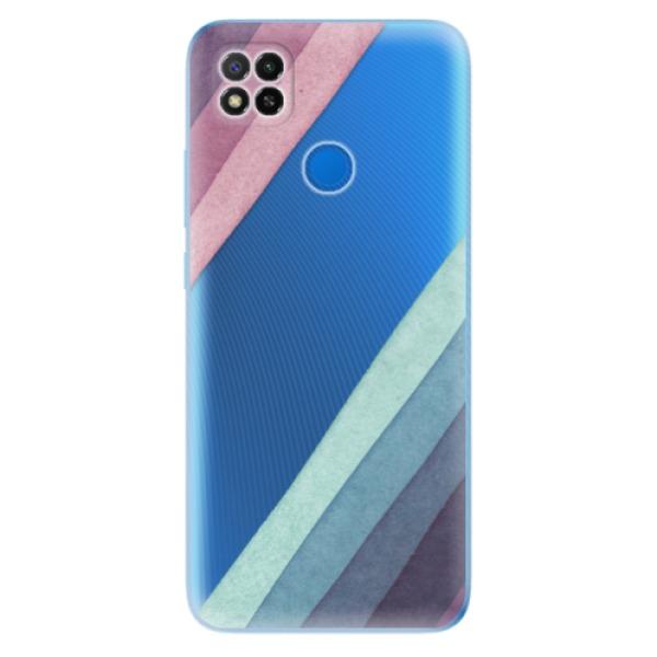 Odolné silikonové pouzdro iSaprio - Glitter Stripes 01 - Xiaomi Redmi 9C