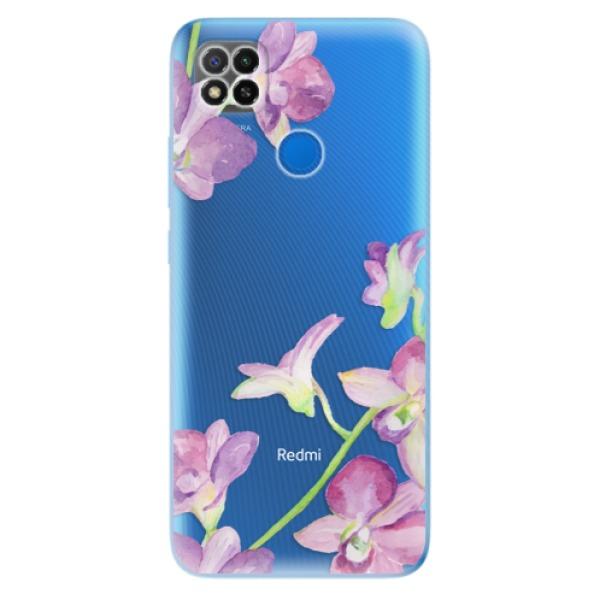 Odolné silikonové pouzdro iSaprio - Purple Orchid - Xiaomi Redmi 9C
