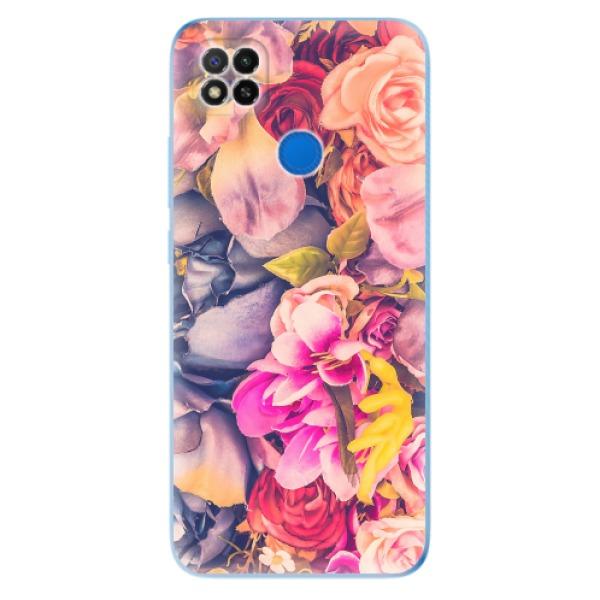 Odolné silikonové pouzdro iSaprio - Beauty Flowers - Xiaomi Redmi 9C