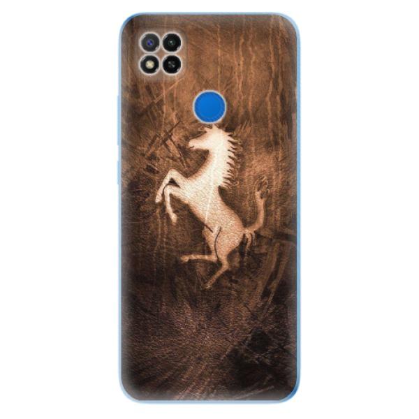 Odolné silikonové pouzdro iSaprio - Vintage Horse - Xiaomi Redmi 9C