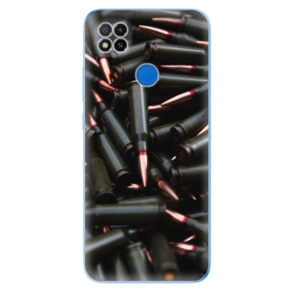 Odolné silikonové pouzdro iSaprio - Black Bullet - Xiaomi Redmi 9C