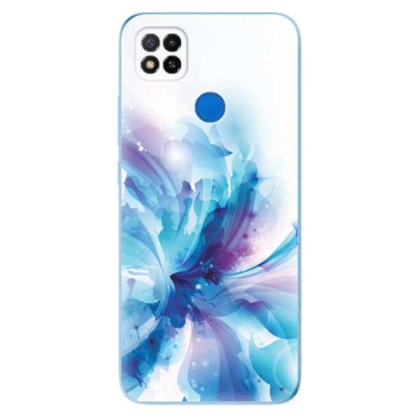 Odolné silikonové pouzdro iSaprio - Abstract Flower - Xiaomi Redmi 9C