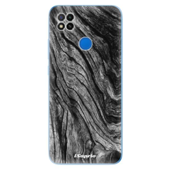 Odolné silikonové pouzdro iSaprio - Burned Wood - Xiaomi Redmi 9C