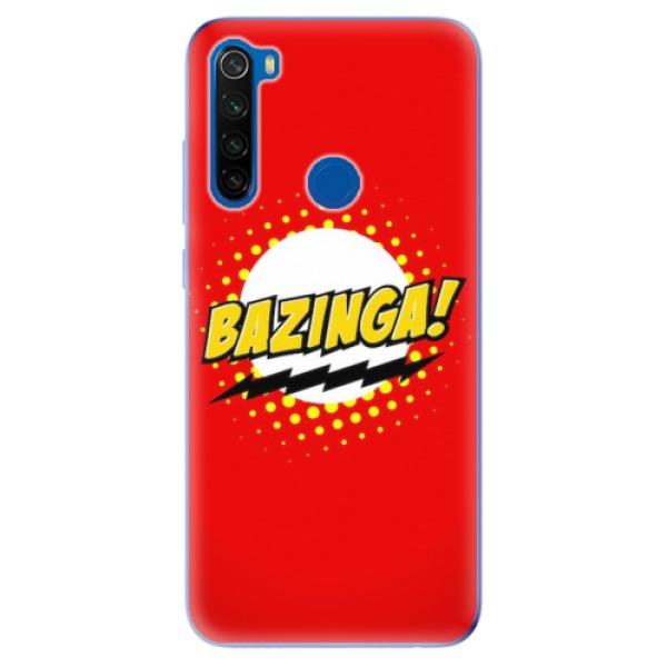 Odolné silikonové pouzdro iSaprio - Bazinga 01 - Xiaomi Redmi Note 8T