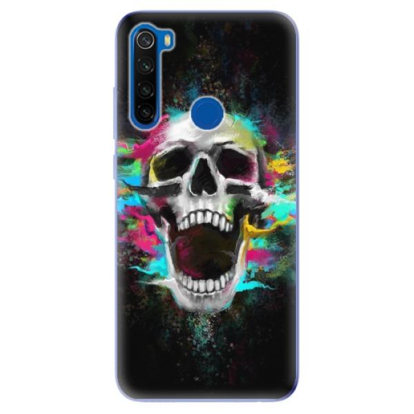 Odolné silikonové pouzdro iSaprio - Skull in Colors - Xiaomi Redmi Note 8T