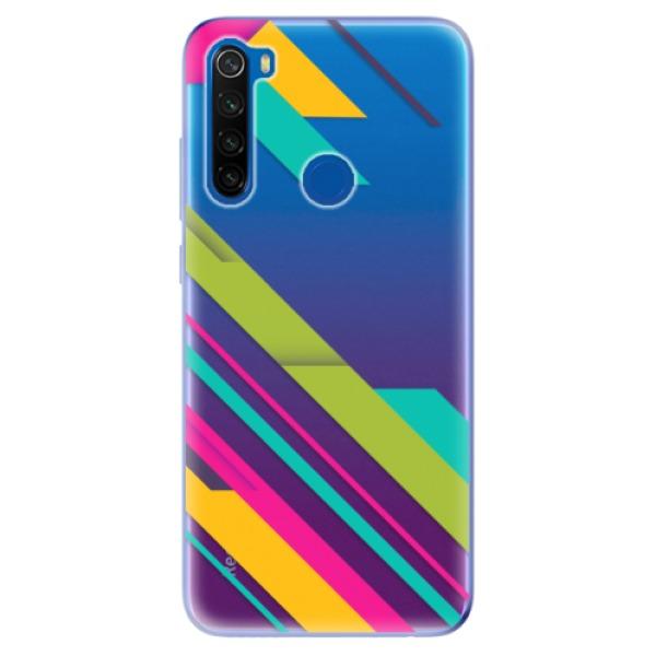 Odolné silikonové pouzdro iSaprio - Color Stripes 03 - Xiaomi Redmi Note 8T