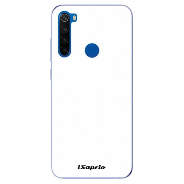 Odolné silikonové pouzdro iSaprio - 4Pure - bílý - Xiaomi Redmi Note 8T