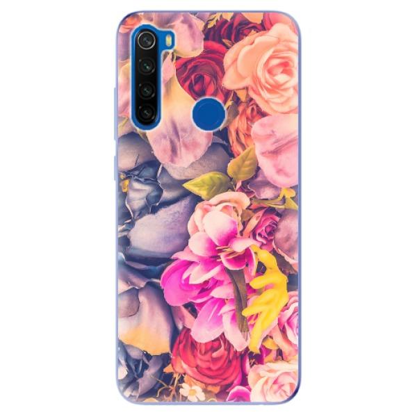 Odolné silikonové pouzdro iSaprio - Beauty Flowers - Xiaomi Redmi Note 8T