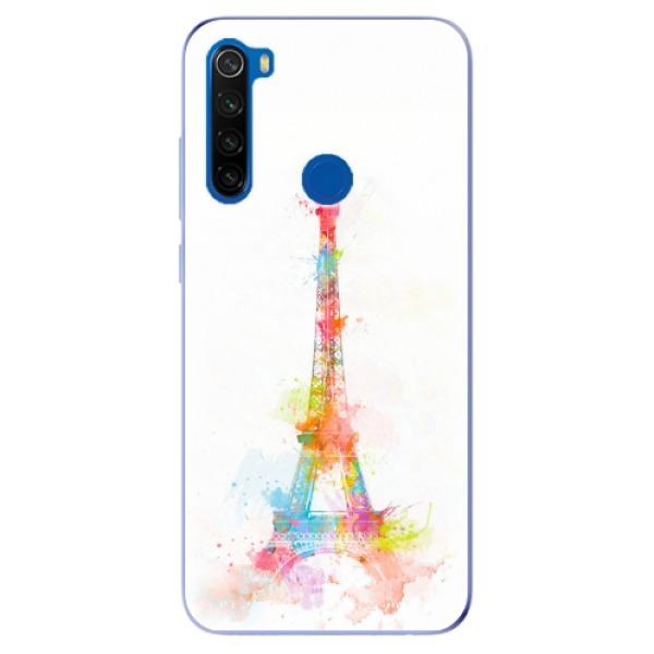 Odolné silikonové pouzdro iSaprio - Eiffel Tower - Xiaomi Redmi Note 8T