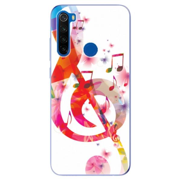 Odolné silikonové pouzdro iSaprio - Love Music - Xiaomi Redmi Note 8T