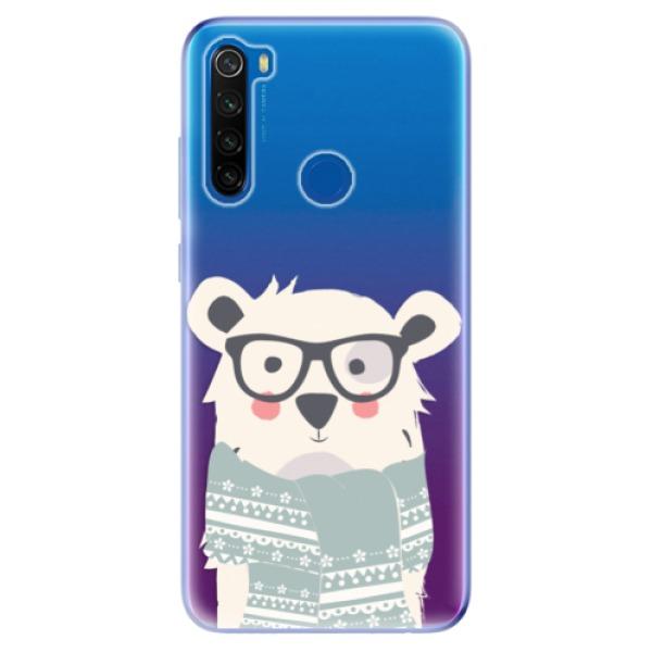 Odolné silikonové pouzdro iSaprio - Bear with Scarf - Xiaomi Redmi Note 8T