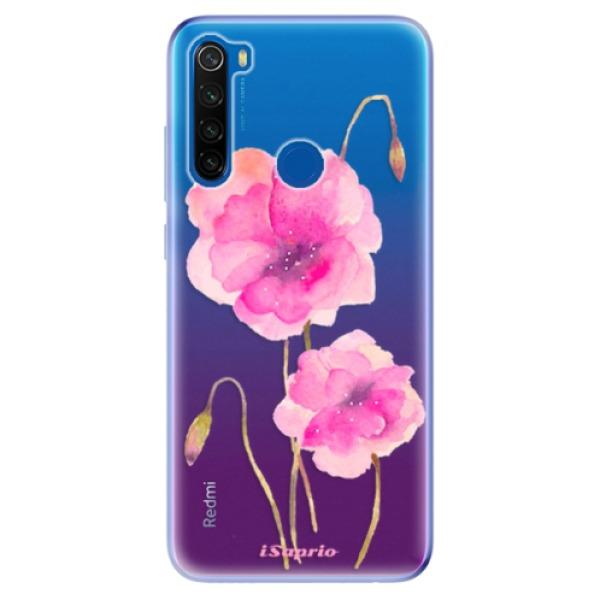 Odolné silikonové pouzdro iSaprio - Poppies 02 - Xiaomi Redmi Note 8T