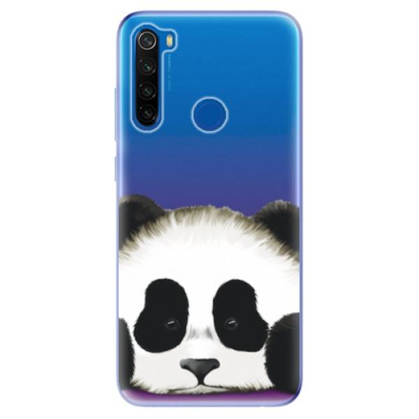 Odolné silikonové pouzdro iSaprio - Sad Panda - Xiaomi Redmi Note 8T