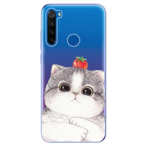 Odolné silikonové pouzdro iSaprio - Cat 03 - Xiaomi Redmi Note 8T