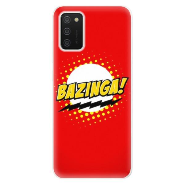 Odolné silikonové pouzdro iSaprio - Bazinga 01 - Samsung Galaxy A02s