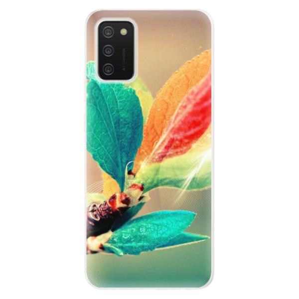 Odolné silikonové pouzdro iSaprio - Autumn 02 - Samsung Galaxy A02s