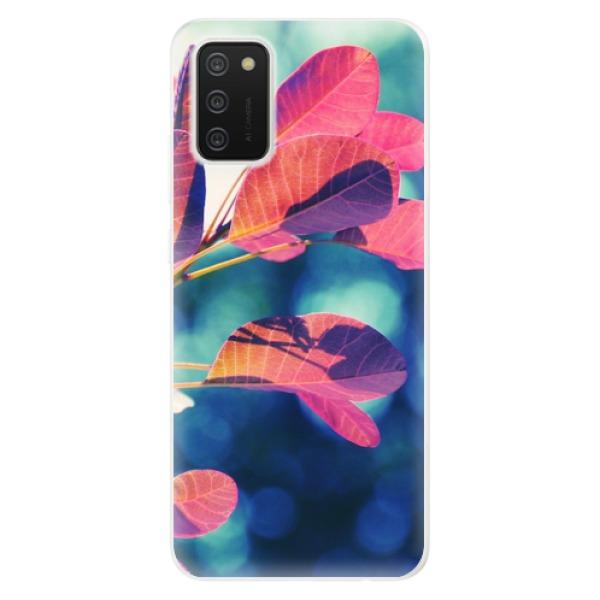 Odolné silikonové pouzdro iSaprio - Autumn 01 - Samsung Galaxy A02s