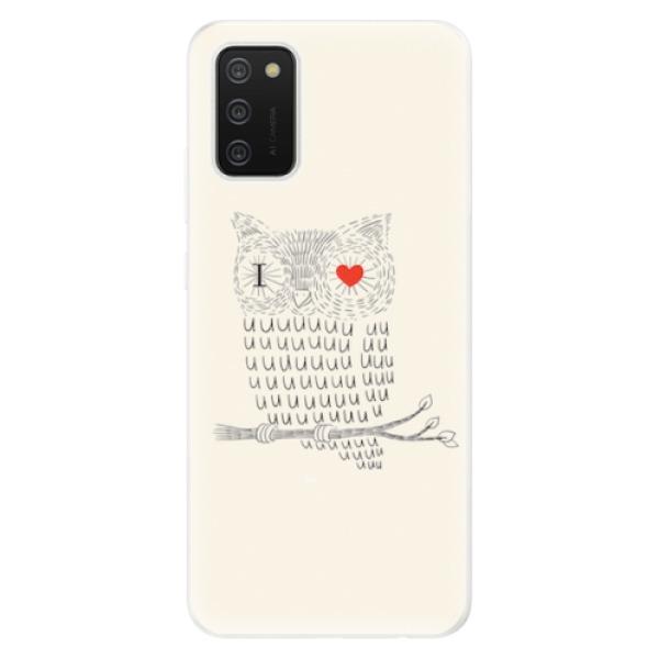 Odolné silikonové pouzdro iSaprio - I Love You 01 - Samsung Galaxy A02s