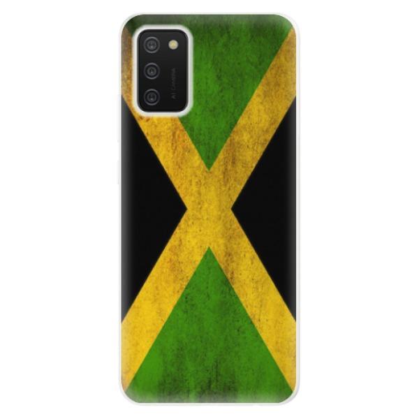 Odolné silikonové pouzdro iSaprio - Flag of Jamaica - Samsung Galaxy A02s