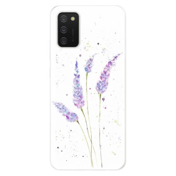 Odolné silikonové pouzdro iSaprio - Lavender - Samsung Galaxy A02s