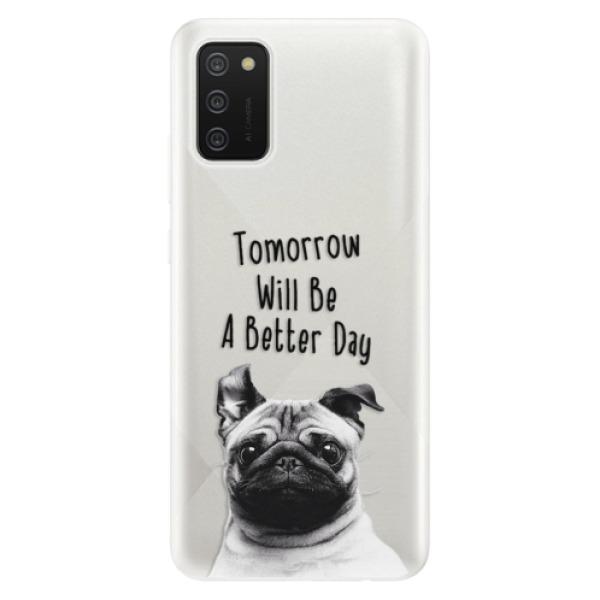 Odolné silikonové pouzdro iSaprio - Better Day 01 - Samsung Galaxy A02s