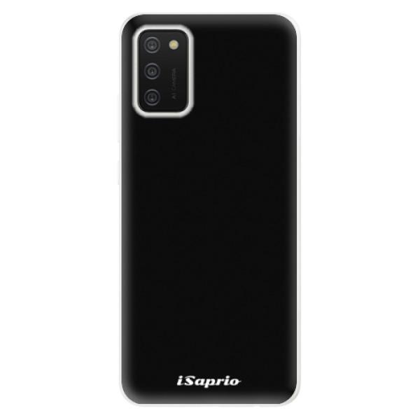 Odolné silikonové pouzdro iSaprio - 4Pure - černý - Samsung Galaxy A02s