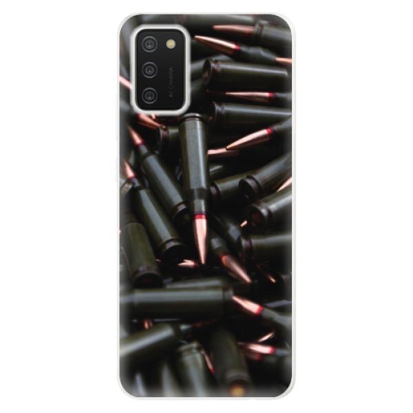 Odolné silikonové pouzdro iSaprio - Black Bullet - Samsung Galaxy A02s