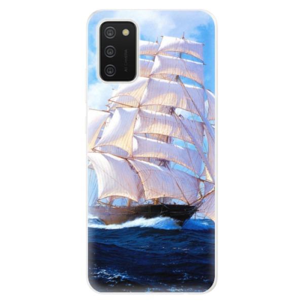 Odolné silikonové pouzdro iSaprio - Sailing Boat - Samsung Galaxy A02s