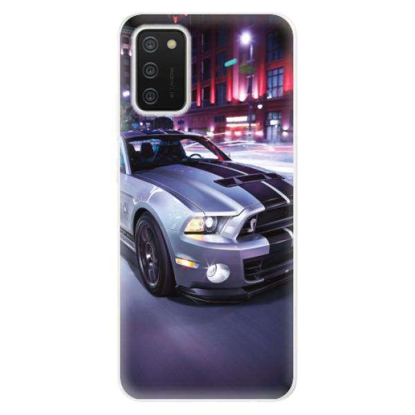 Odolné silikonové pouzdro iSaprio - Mustang - Samsung Galaxy A02s