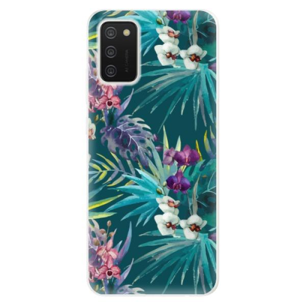 Odolné silikonové pouzdro iSaprio - Tropical Blue 01 - Samsung Galaxy A02s
