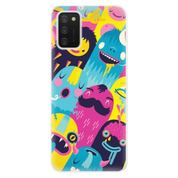 Odolné silikonové pouzdro iSaprio - Monsters - Samsung Galaxy A02s