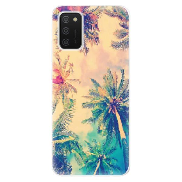 Odolné silikonové pouzdro iSaprio - Palm Beach - Samsung Galaxy A02s