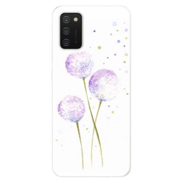 Odolné silikonové pouzdro iSaprio - Dandelion - Samsung Galaxy A02s