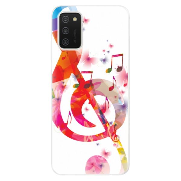 Odolné silikonové pouzdro iSaprio - Love Music - Samsung Galaxy A02s