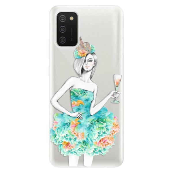 Odolné silikonové pouzdro iSaprio - Queen of Parties - Samsung Galaxy A02s