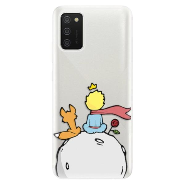 Odolné silikonové pouzdro iSaprio - Prince - Samsung Galaxy A02s