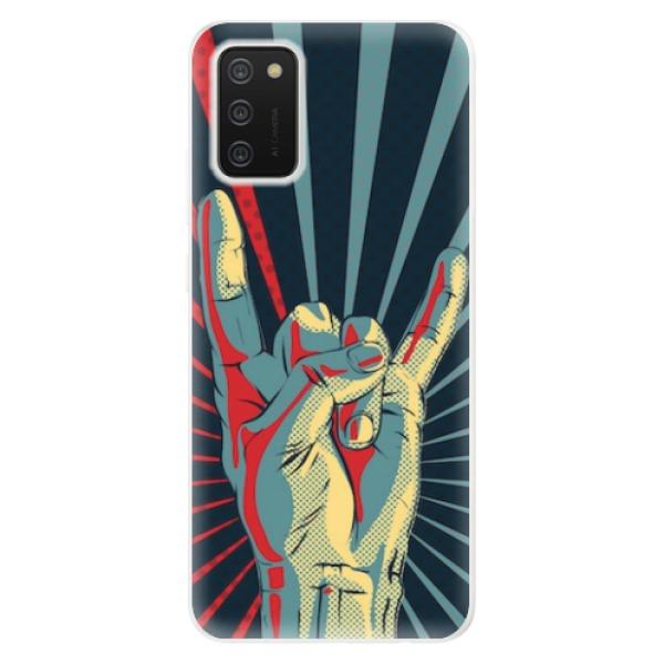 Odolné silikonové pouzdro iSaprio - Rock - Samsung Galaxy A02s