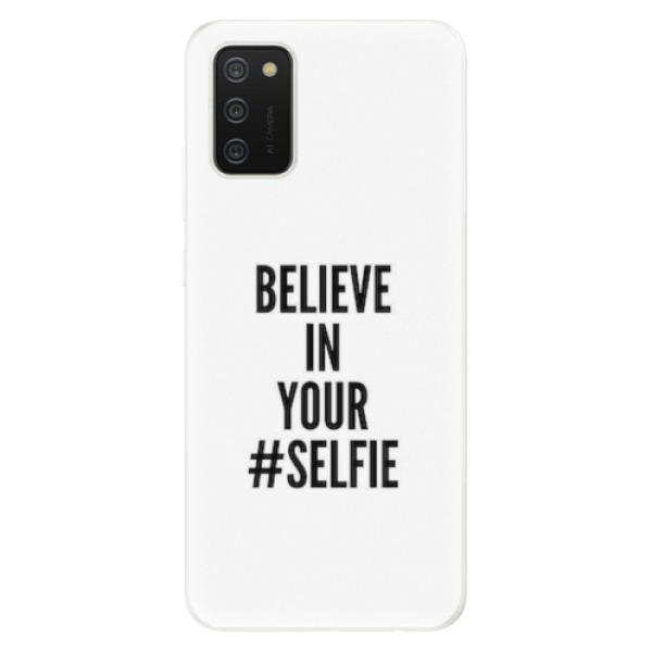 Odolné silikonové pouzdro iSaprio - Selfie - Samsung Galaxy A02s