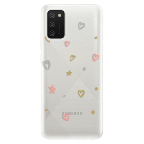 Odolné silikonové pouzdro iSaprio - Lovely Pattern - Samsung Galaxy A02s