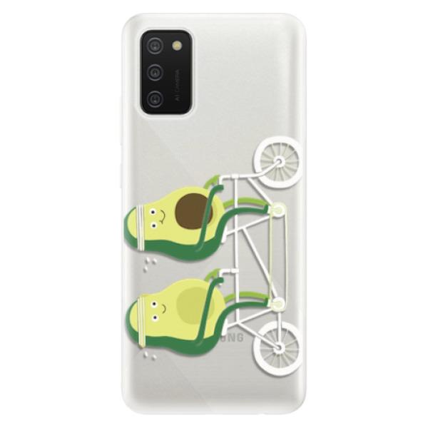 Odolné silikonové pouzdro iSaprio - Avocado - Samsung Galaxy A02s