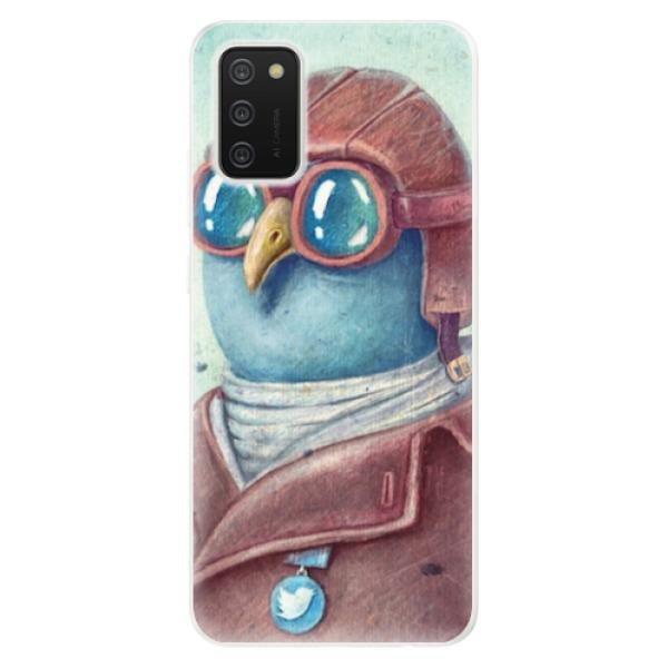 Odolné silikonové pouzdro iSaprio - Pilot twitter - Samsung Galaxy A02s