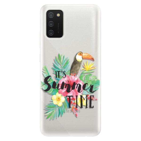 Odolné silikonové pouzdro iSaprio - Summer Time - Samsung Galaxy A02s