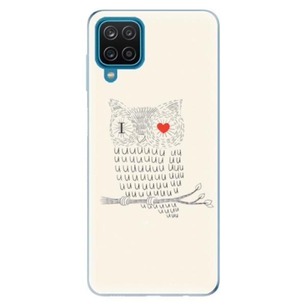 Odolné silikonové pouzdro iSaprio - I Love You 01 - Samsung Galaxy A12