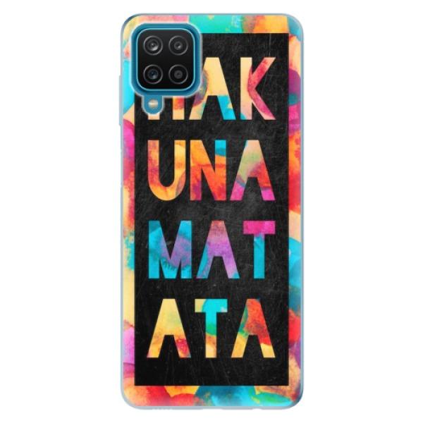 Odolné silikonové pouzdro iSaprio - Hakuna Matata 01 - Samsung Galaxy A12