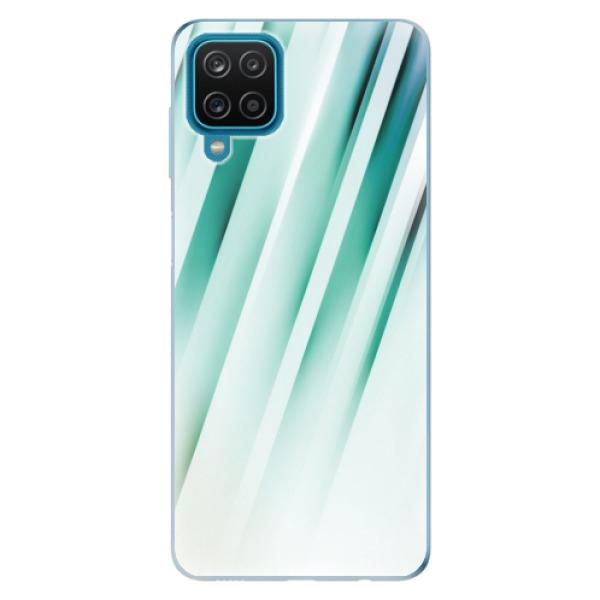 Odolné silikonové pouzdro iSaprio - Stripes of Glass - Samsung Galaxy A12