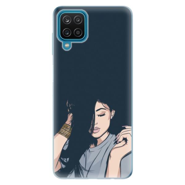 Odolné silikonové pouzdro iSaprio - Swag Girl - Samsung Galaxy A12