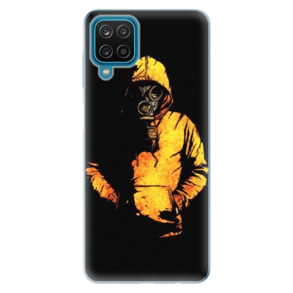 Odolné silikonové pouzdro iSaprio - Chemical - Samsung Galaxy A12