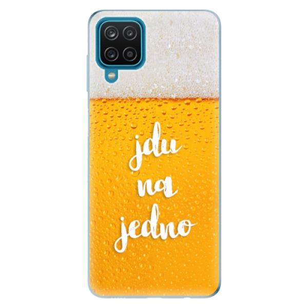 Odolné silikonové pouzdro iSaprio - Jdu na jedno - Samsung Galaxy A12