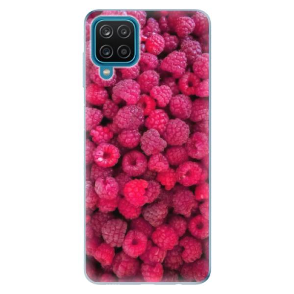 Odolné silikonové pouzdro iSaprio - Raspberry - Samsung Galaxy A12